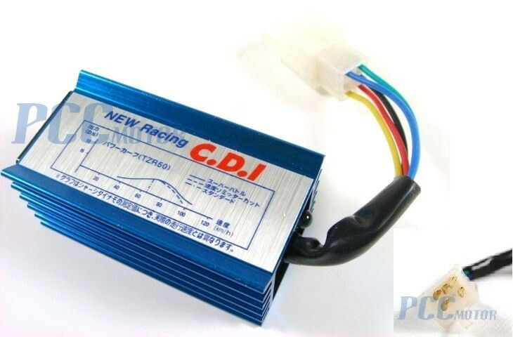new racing cdi pin wiring diagram new image race no rev hyper 5 pin cdi box xr50 crf50 110cc 125cc bike h blue on