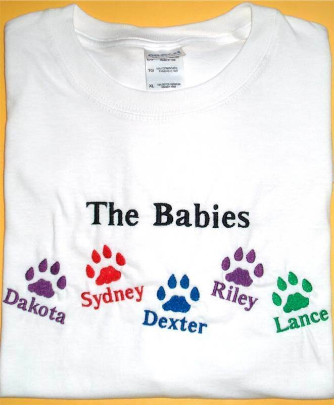 Personalized DOG CAT PET Pet Names Paws Mommy Mom Mother