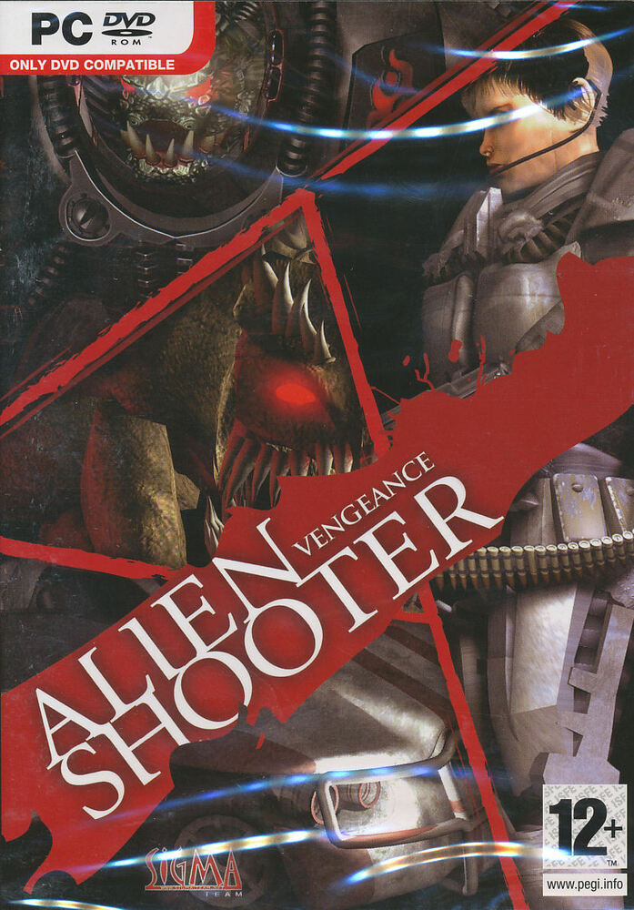 New Box Games : Alien shooter vengeance action rpg pc game new in box