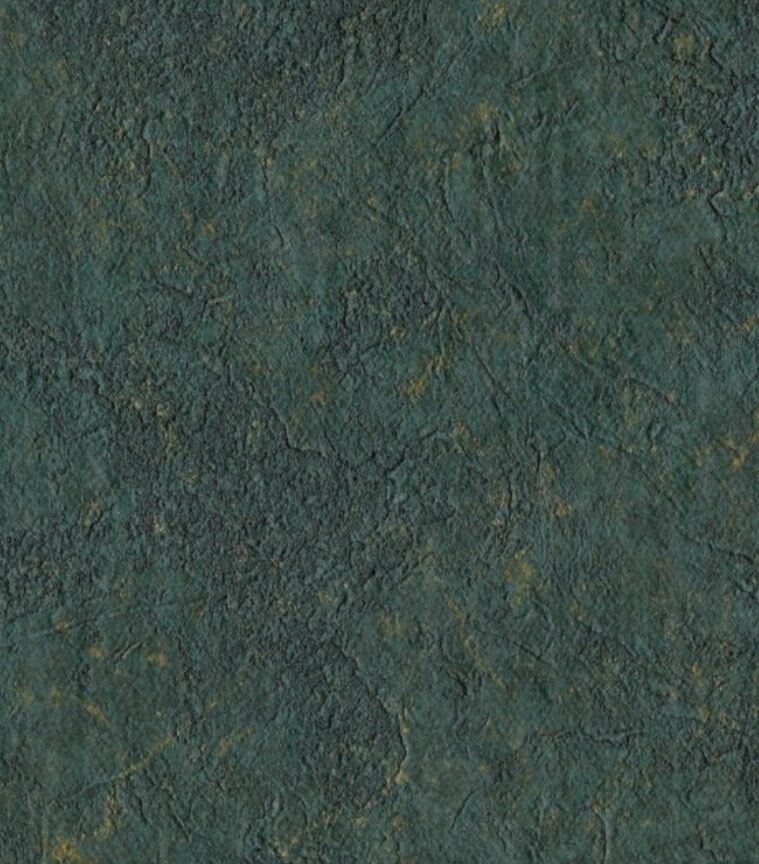 Au Naturelle Vinyl Wallcovering: Wallpaper Drk Green & Gold Texture Vinyl Fabric Backed