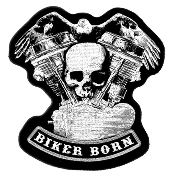 4 people 1 bikers patch
