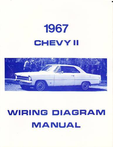 1967 chevy ii wiring diagram manual ebay. Black Bedroom Furniture Sets. Home Design Ideas