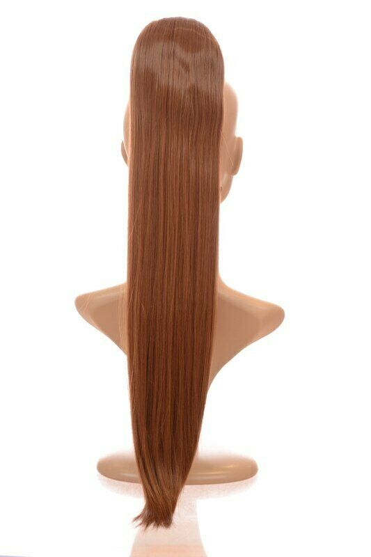 "21"" Long Straight Ponytail Hairpiece 