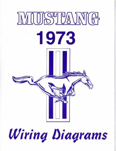 1973 Mustang Wiring Diagram Manual
