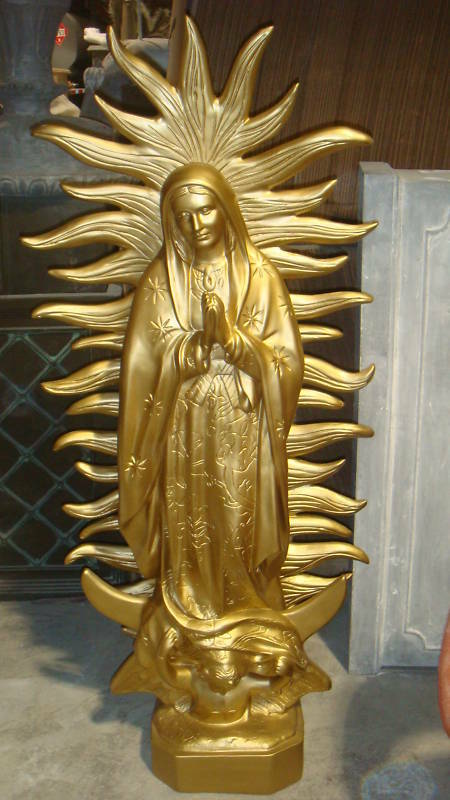 61 Quot Our Lady Of Guadalupe Outdoor Fiberglass Statue Ebay