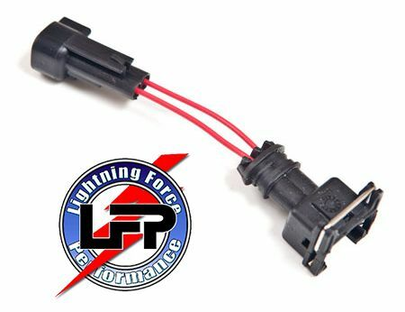 saturn 21025330 radio wiring harness color code fuel injector wire harness adaptor ev1 injector to ev6 ... saturn fuel injectors wiring harness