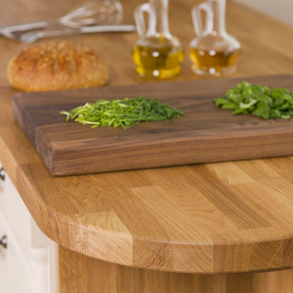 Oak Solid Wood Worktops, 40mm Staves, Top Quality A Grade