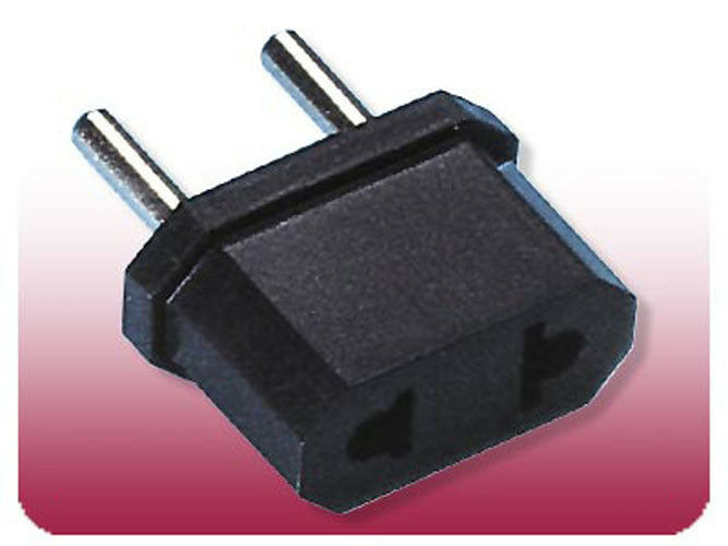 Travel Foreign Adapter Round Plug From 110v To 220v Europe