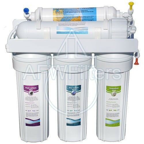 New 6 Stage With Uv Reverse Osmosis Water Filter Ro Free