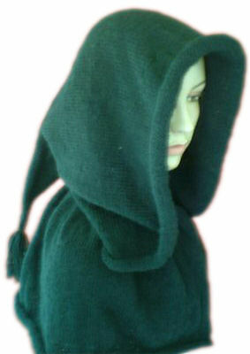 Spirit Hood Knitting Pattern : Knitwitz ? Celtic Spirit Hood Knitting Pattern eBay