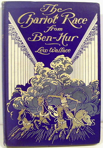 The Chariot Race From Ben Hur By Lew Wallace 1908 Illus Ebay
