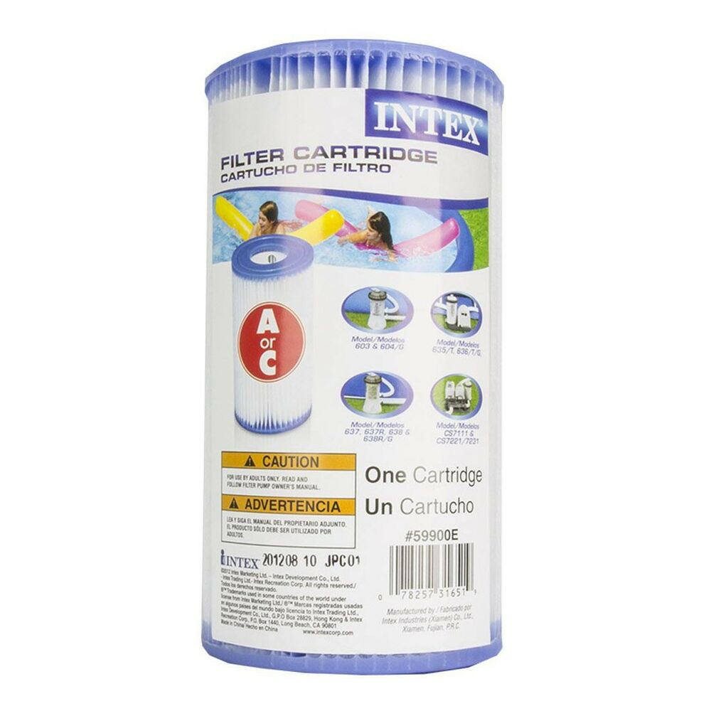Intex Swimming Pool Easy Set Type A Replacement Filter Pump Cartridge 29000e Ebay
