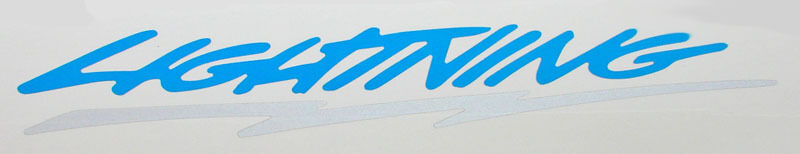 Ford lightning logo