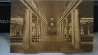 1920 New York Central RR Station Utica NY Post Card