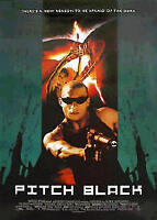 PITCH BLACK Vin Diesel MOVIE POSTER Chronicles Riddick