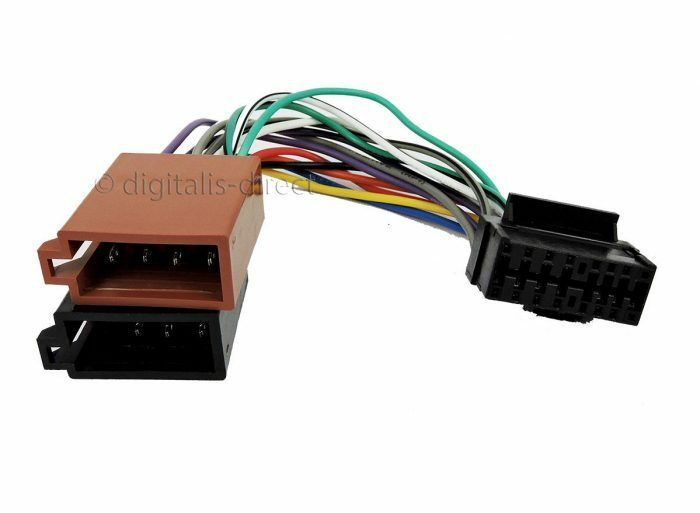 jvc 16 pin car stereo radio iso lead wiring harness. Black Bedroom Furniture Sets. Home Design Ideas