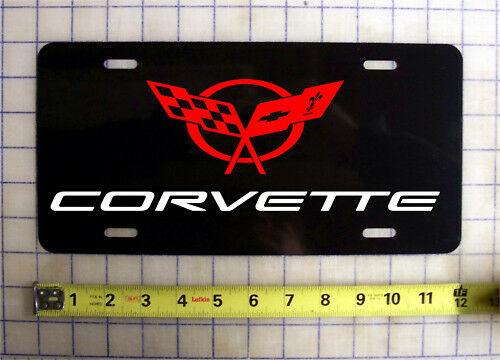 CHEVY CORVETTE CUSTOM LICENSE PLATE / CAR TAG | eBay