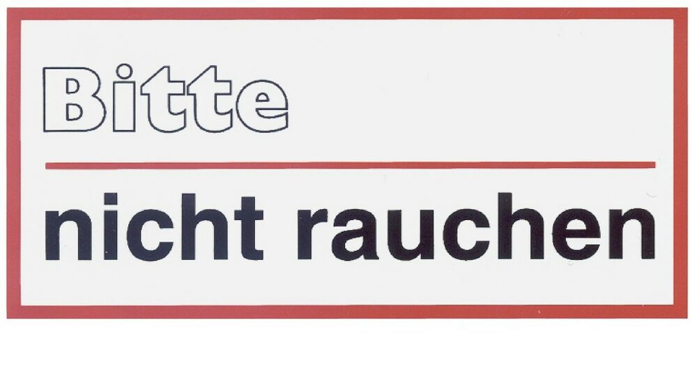 rauchverbot schild schilder warnschild t rschild 10x5cm hinweisschild rauchen ebay. Black Bedroom Furniture Sets. Home Design Ideas