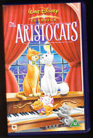 DISNEY CLASSICS - ARISTOCATS - HOLOGRAMS - VHS PAL (UK) VIDEO