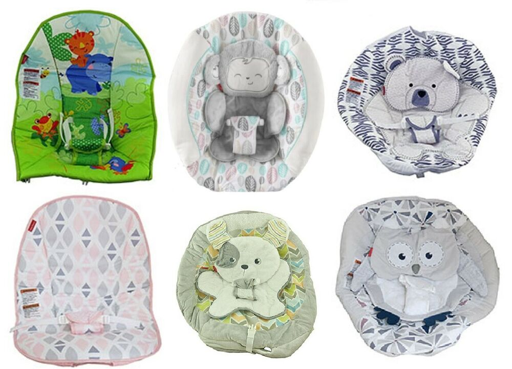 New Fisher Price Baby Bouncer Replacement Seat Pad Ebay