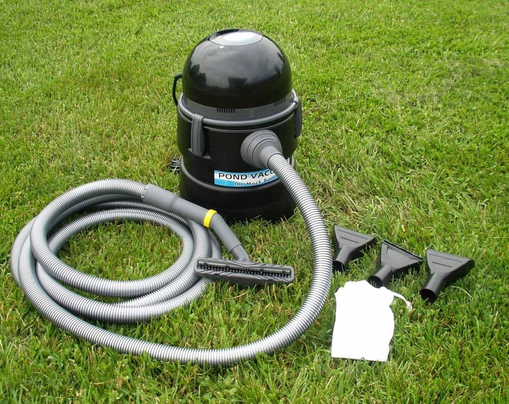 the muck buster koi fish pond vacuum vac cleaner water
