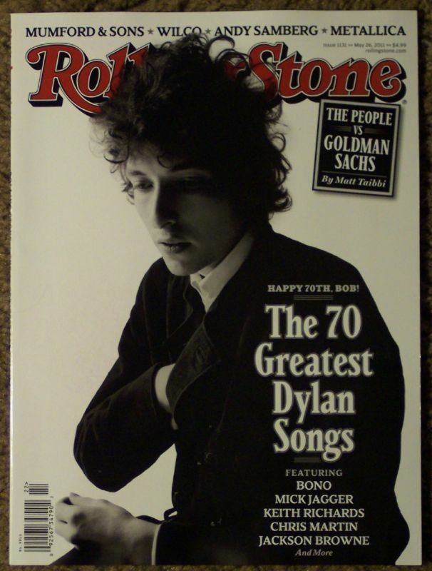 ROLLING STONE 70 Greatest BOB DYLAN Songs JAGGER Browne | eBay Rolling Stones Songs