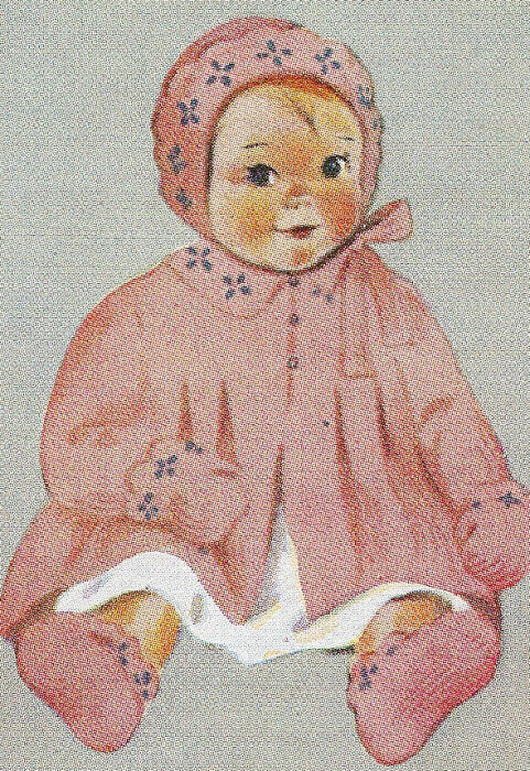 Vintage Knitting Patterns Baby Hats : Vintage Knitting PATTERN Baby Toddler Jacket Hat Bootie eBay