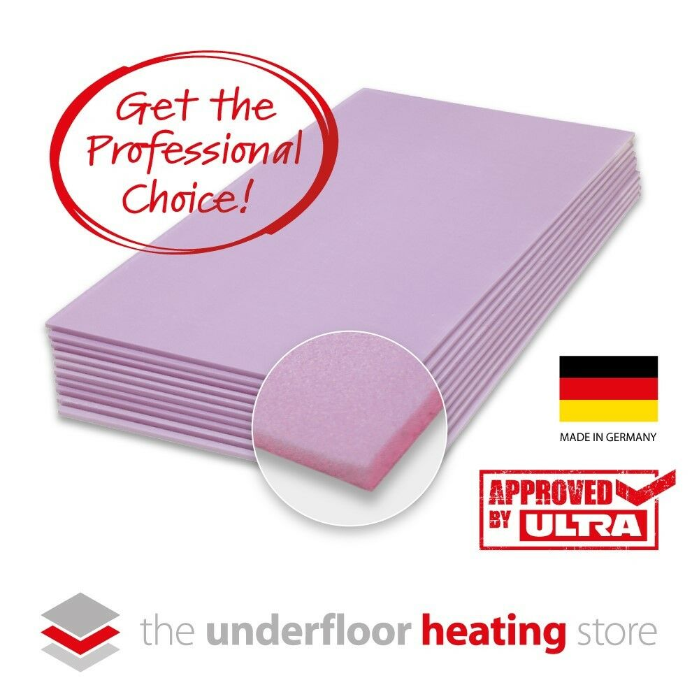 Electric Underfloor Heating Insulation Boards 10mm For Underfloor