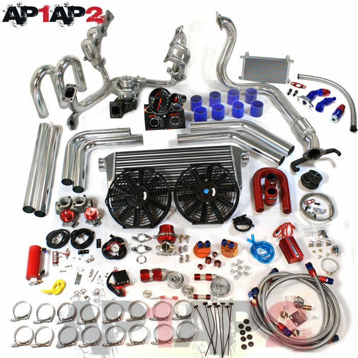 93 97 mazda mx 6 v6 klze turbo kit 23 pcs jdm t04e ebay. Black Bedroom Furniture Sets. Home Design Ideas