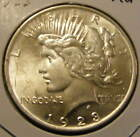 BU 1923 Peace Dollar 90% Silver - Very Nice # 130923-31