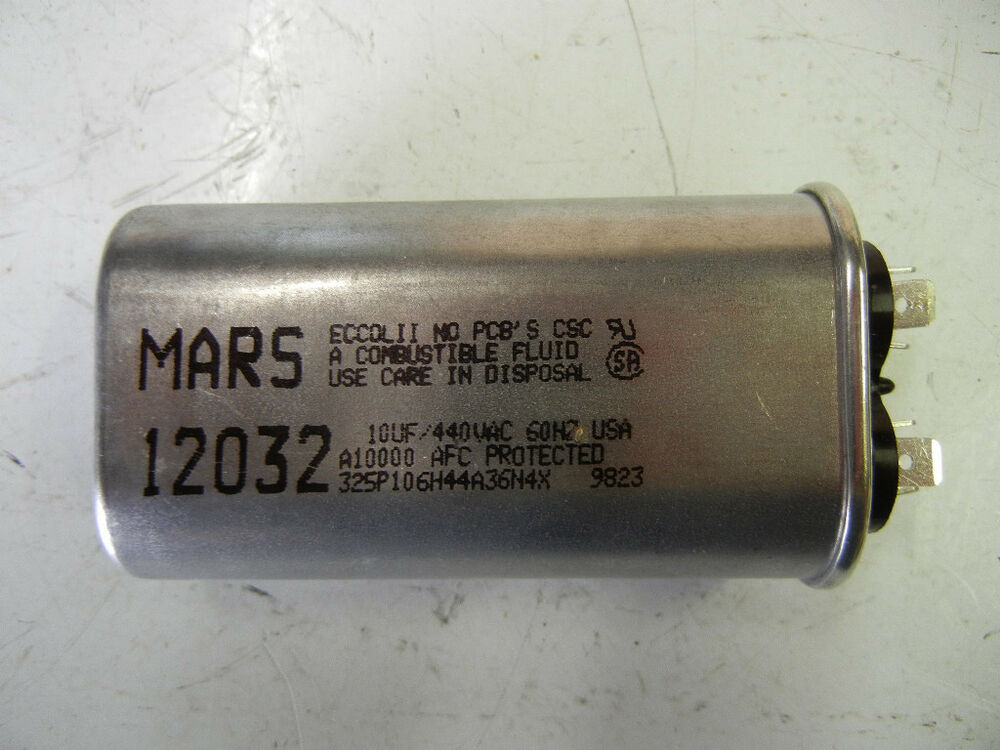 Mars 12032 New Motor Run Capacitor 12032 Ebay