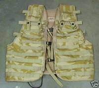 NEW - Desert Camo MOLLE Osprey Tactical Load Carrying Vest - Military Issued