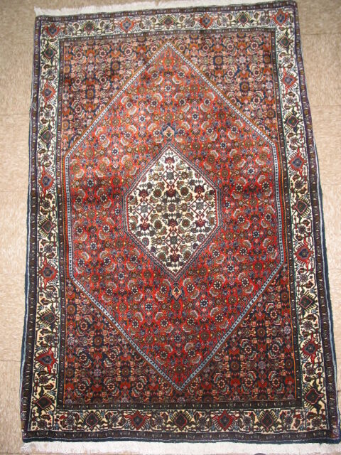 Vintage Semi Antique Bidjar Persian Rug B 7958 Ebay