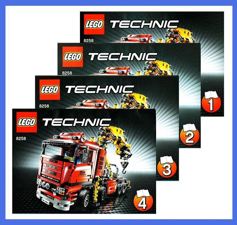 lego bauanleitung 8258 technic technik crane truck. Black Bedroom Furniture Sets. Home Design Ideas