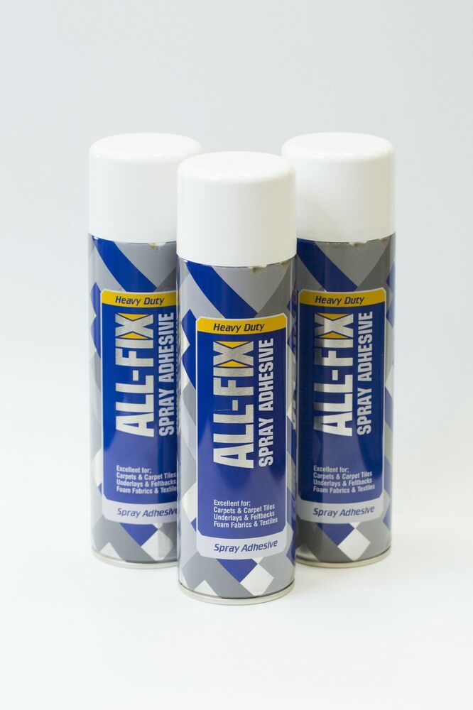 2 cans multi purpose contact heavy duty spray glue adhesive carpet upholstery ebay. Black Bedroom Furniture Sets. Home Design Ideas