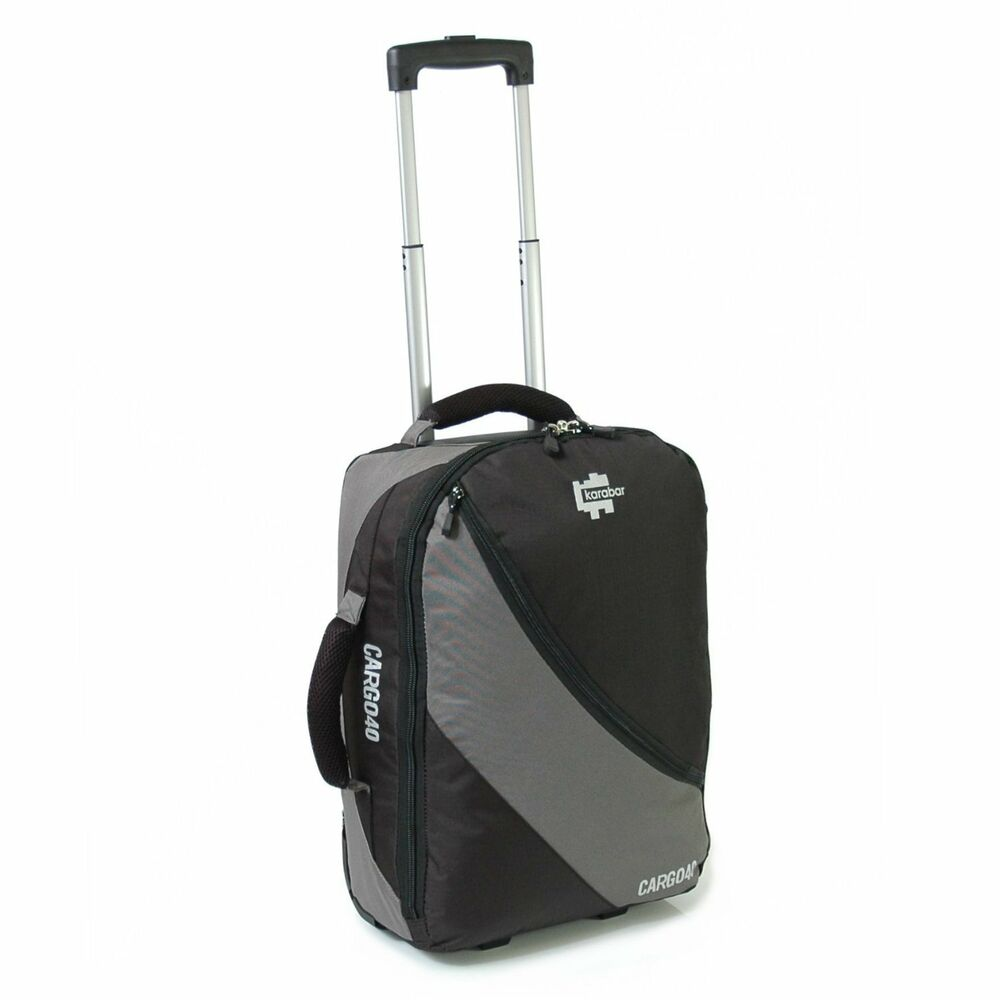 Small Cabin Approved Wheeled Luggage Rucksack Suitcase