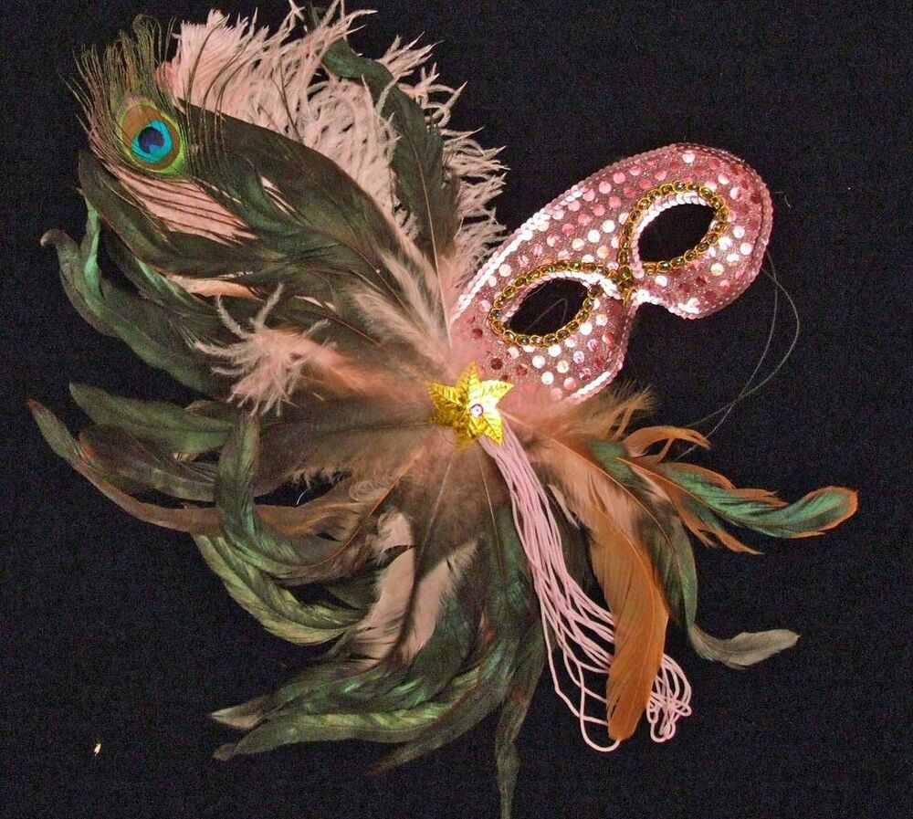 Pretty in Pink Sequin Mask Mardi Gras Wedding Sequin Prom ...