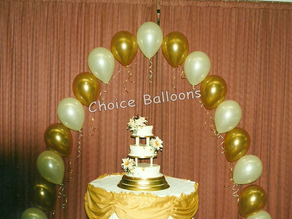 Wedding balloons single balloon arch all colours diy for Balloon arch decoration kit