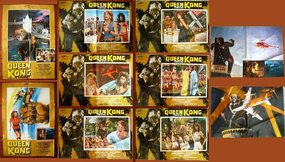 queen kong robin askwith italian movie complete set of