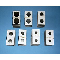 Kyпить Two Hundred (200) Assorted Size-YOU PICK 2X2 Cardboard/Mylar Coin Holders Flips на еВаy.соm