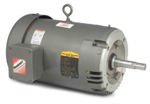 vjmm3311t 7 5 hp 1735 rpm baldor surplus electric motor