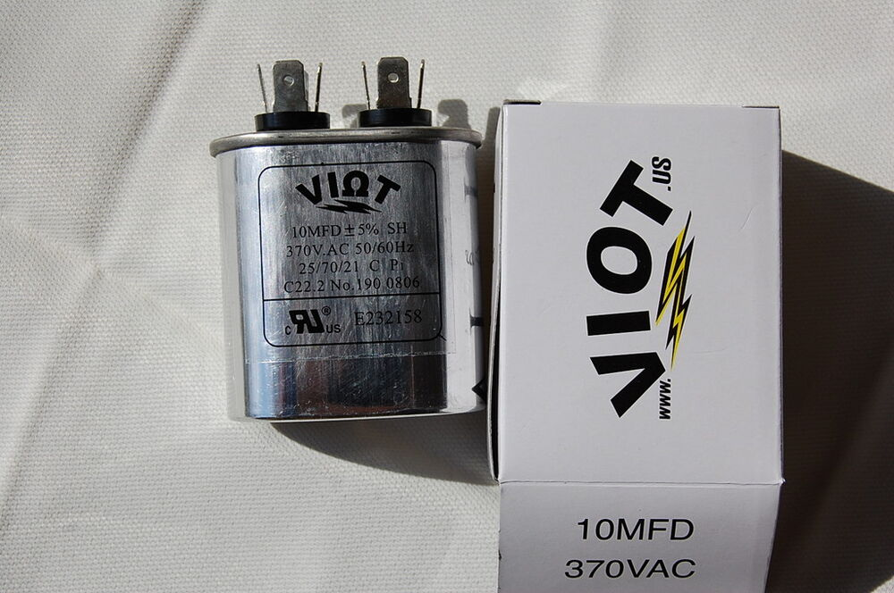 Compressor Ac Furnace Blower Motor Start Run Capacitor