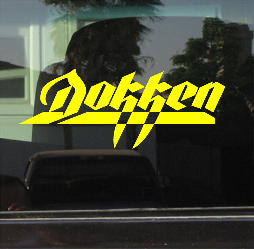 Dokken 10 Inch Vinyl Decal Sticker Ebay