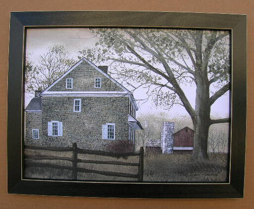 Billyjacobs bucks county homestead framed country pictures Ebay home interior pictures