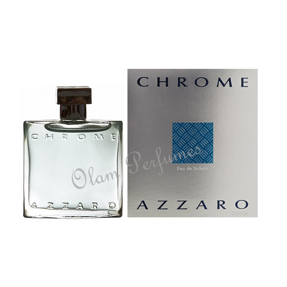 Chrome by azzaro cologne edt spray men 100ml new for Chrome azzaro perfume