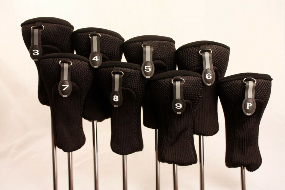 new neoprene 3 pw set head cover covers hybrid golf clubs. Black Bedroom Furniture Sets. Home Design Ideas
