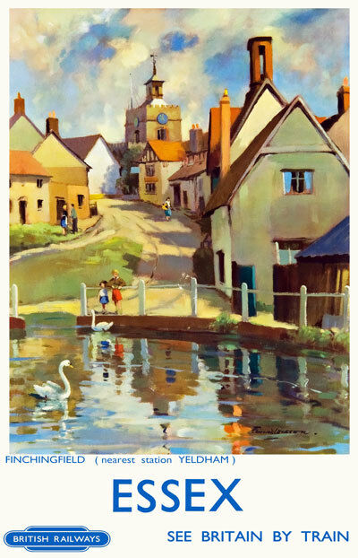 Bristol british travel posters vintage