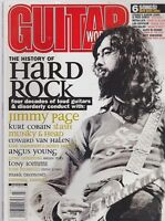 MARCH 2001 GUITAR WORLD vintage music magazine JIMMY PAGE