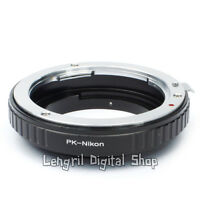 Macro Pentax Lens to Nikon F Mount Adapter Ring No Glass For D5100 D3100 D3X D90