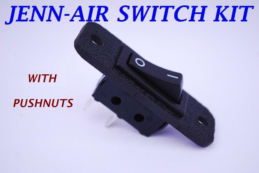 s l1000 715397 jenn air replacement 2 wire fan switch jenn air jennair ebay jenn-air s136 wiring diagram at readyjetset.co